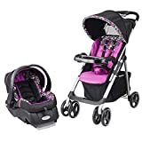 Evenflo Vive Travel System with Embrace LX Infant Car Seat (Daphne)