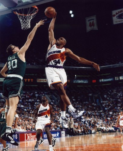 CHARLES BARKLEY PHOENIX SUNS 8X10 SPORTS ACTION PHOTO (Charles Barkley Phoenix Suns)