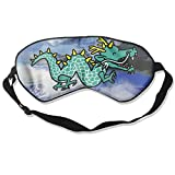 HEHE TAN Cute Chinese Dragon Eye Mask Sleeping Mask Silk Mask Shade Sleep Gossles Eyeshade/Blindfold
