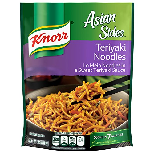 Knorr  Asian Sides, Teriyaki Noodles 4.6 oz (Pack of 12) ()