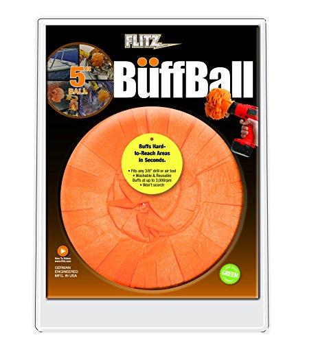 Flitz Orange Original Clamshell 5 Inch