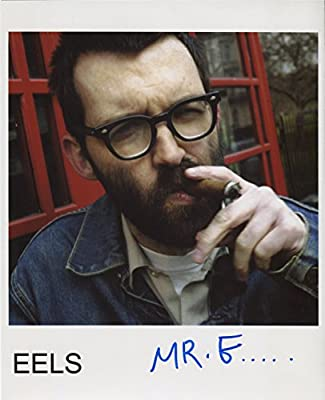 The Eels Band Mark Oliver Everett Signed 8 X 10 Photo Certificate Of Authentication 100 Genuine Amazon Co Uk Garden Outdoors