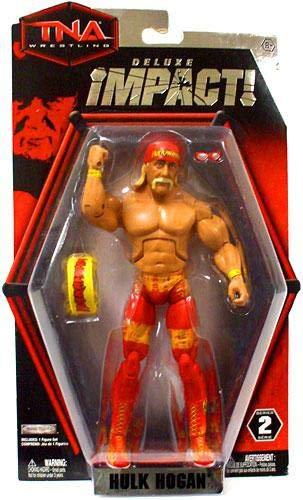 TNA Deluxe Impact 2 'Hulk Hogan' Action Figure