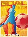Oopsy daisy, Fine Art for Kids Goal Stretched Canvas Art by Juice Box, 18 by 24-Inch