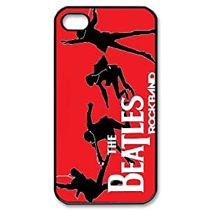 Best Phone case At MengHaiXin Store The Beatles Pattern 261 For Iphone 4 4S case cover