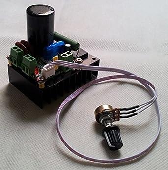 12v 24v 48v 110v dc motor speed controller pwm speed for Industrial dc motor controller