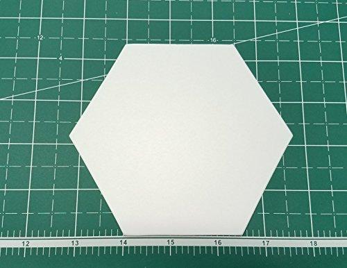 2.5'' Hexagon English Paper Piecing EPP Set (100 Pieces) by English Paper Piecing