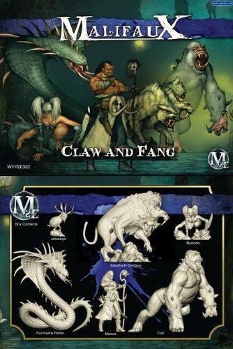 Wyrd Miniatures 20302 Arcanists Claw And Fang Box Set 6 WYR20302