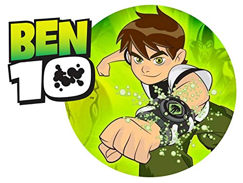 Ben 10 Fist Edible Frosting Image 1/4 Sheet Cake Topper ()