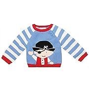 Zubels 100% Hand-Knit Pirate Sweater All Natural Fibers