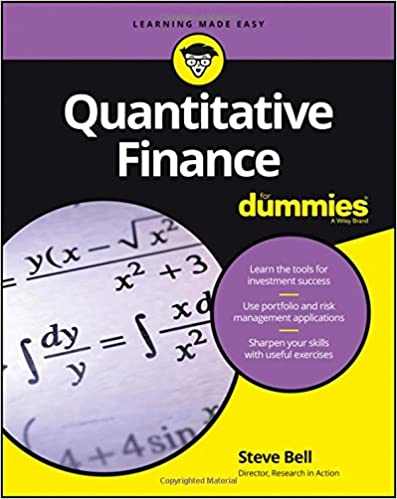 Quantitative Finance For Dummies 2016