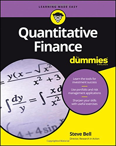 Quantitative Finance For Dummies (Formula 1 For Dummies)