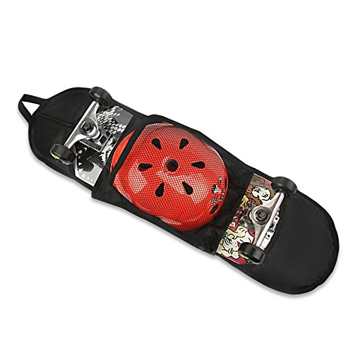 Skateboard Bag,Portable Longboard Carrying Adjustable Shoulder Bag Backpack,for 28 inch to 33 inch Skateboard (Longboard Skateboard Bag)
