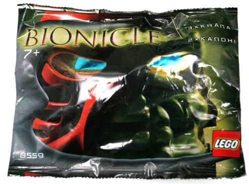 - LEGO Bionicle 8559 Krana & Kanohi Masks