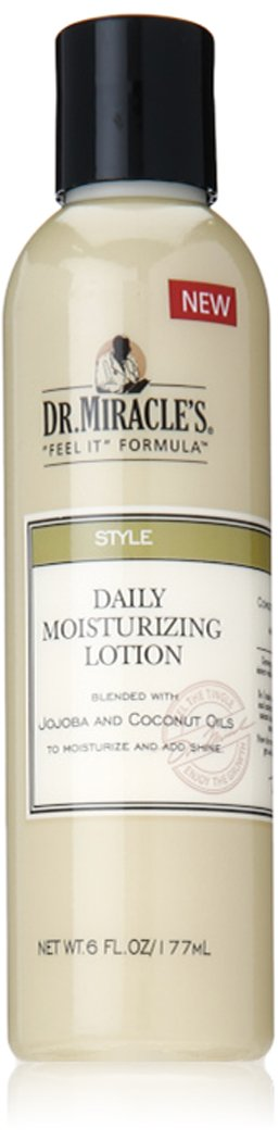 Dr. Miracle's Style Daily Moisturizing Lotion, 6 Ounce