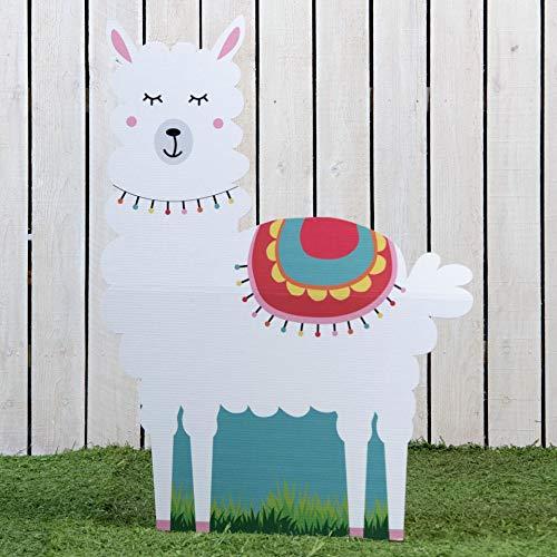 3 ft. 10 in. Whole Llama Fun Standee -