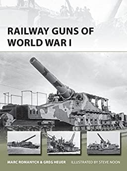 Download for free Railway Guns of World War I