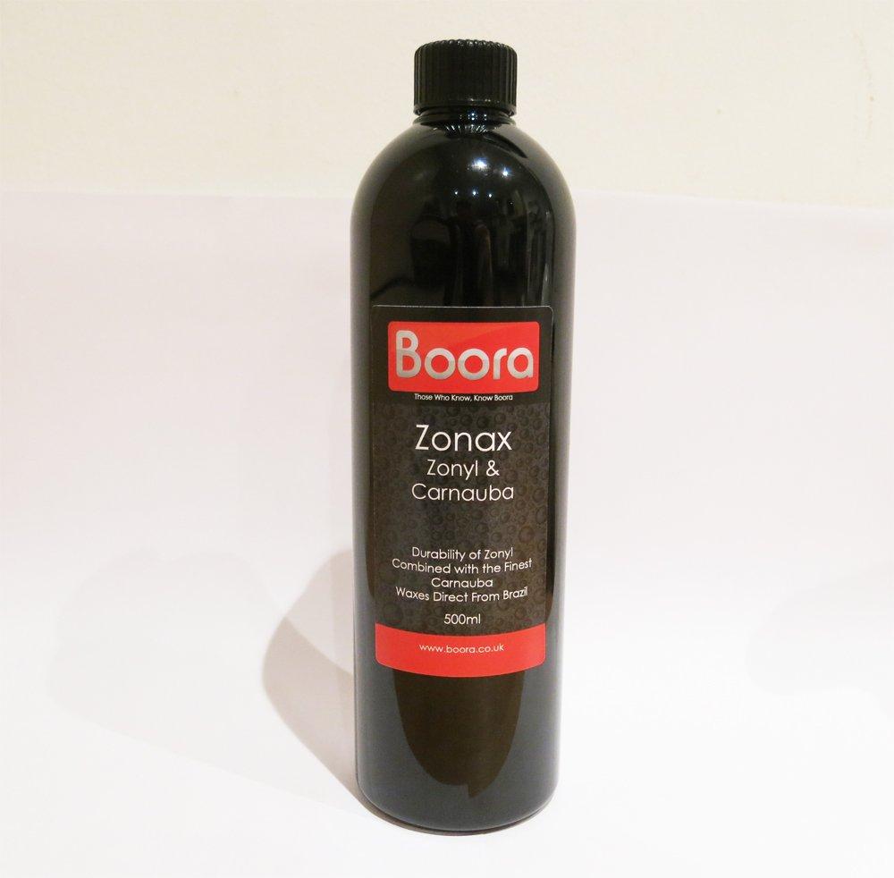 Boora Zonax 500ml - Zonyl & Carnauba Sealant Wax