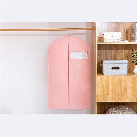 GeWu888 Ropa Antipolvo Bolsa de Ropa Transpirable Claro Bolsas for Polvo Cubierta de almacenaje de la Ropa Trajes del Vestido de la Danza con Cremallera y Transpirable para el hogar: Amazon.es: Hogar