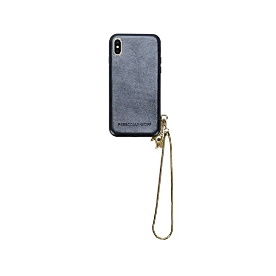 separation shoes a5136 6e0c9 Amazon.com: Rebecca Minkoff Case w/Charm + Lanyard for iPhone X ...