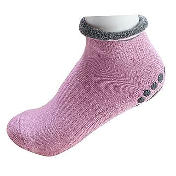 Liuxc Damen Socken Ladies Socken Qualitat Anti Rutsch Yoga Socken