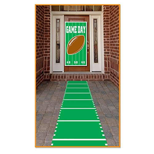 Sports Field Runner (poly w/double-stick tape) Party Accessory  (1 count) (1/Pkg) ()
