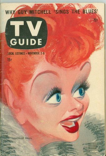 1957 TV Guide Nov 2 Lucille Ball - Chicago Edition Excellent (5 out of 10) Lightly Used by Mickeys Pubs