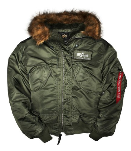 best service e0b7d 69c85 Alpha Industries Jacke 45 P Hooded, Color:gunmetal;Größe:S ...