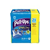 Health & Personal Care : Huggies Pull-Ups Night Time Training Pants for Boys, 2T-3T, 48 Count (Pack of 2)