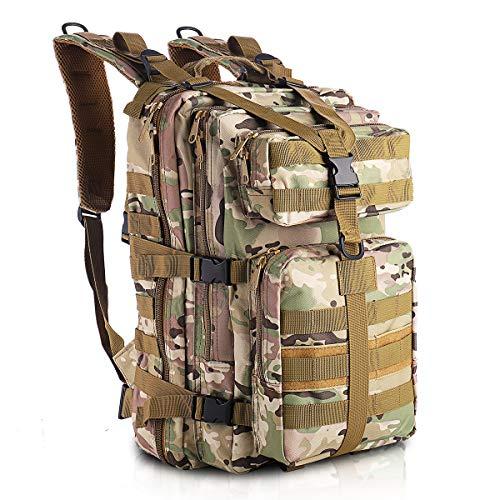 SHANNA Militaire Sac À Dos, Sac À Dos Tactique 35L Armée Sac À Dos Molle Assaut Pack Tactique Combat Sac À Dos pour… 1