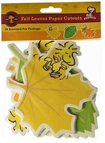 Eureka Peanuts Fall Leaves Paper 5