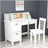 KidKraft Study Desk with Chair-White