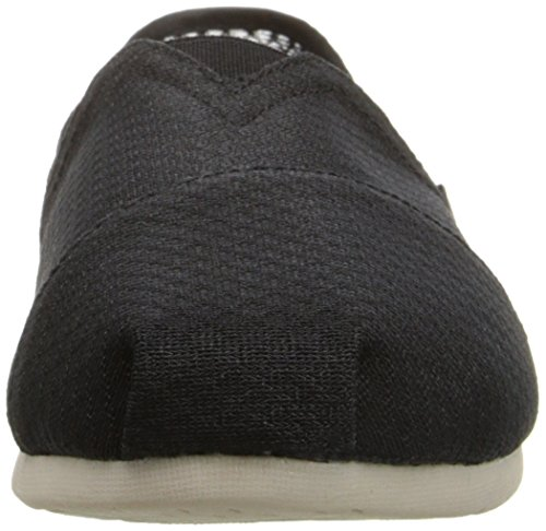 Luxe Flat BOBS from Women's On Fashion Black Slip Skechers Mesh vt4qUw0H