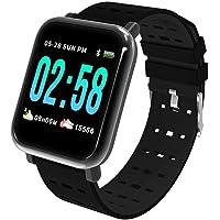 Relogio Smartwatch Inteligente A6 Batimentos e Pressão Preto
