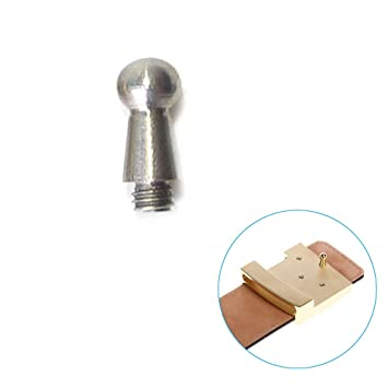ebf9c5c48386 DIY Boucle de ceinture Vis Crochet Laiton Tête ronde Bouton à tige TOOGOO  de remplacement pour