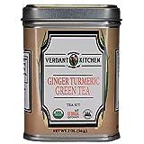 Verdant Kitchen, Ginger Turmeric Green Tea, 2 oz For Sale