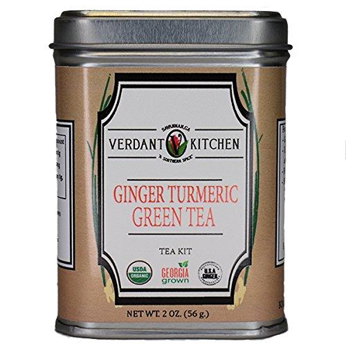 Ginger Turmeric Green Tea 2 oz