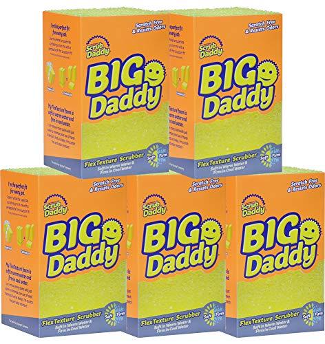(Scrub Daddy - Big Daddy FlexTexture Scrubber - Scratch Free & Odor Resistant - 5)