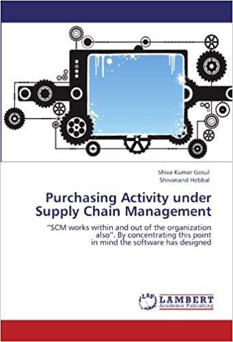 Purchasing Activity under Supply Chain Management: 'SCM works within and out of the organization also'. By concentrating this point in mind the software has designed