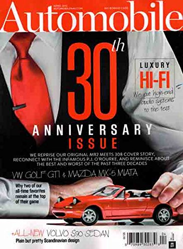 Download Automobile April 2016 30th Anniversary Issue VW Golf GTI & Maxda MX-5 Miata PDF