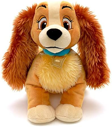 Amazon Com Lady And The Tramp Lady Plush 14 L By Disney Toys Games