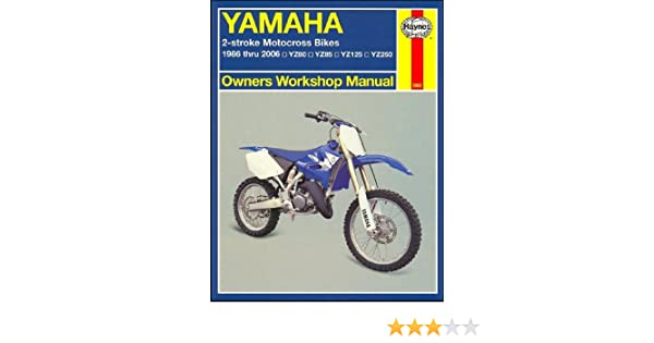 download yamaha yz125 yz 125 1994 94 service repair workshop manual