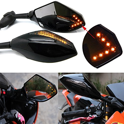 Led Motorcycle Mirror Turn Signals - 2
