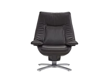 Amazon.com: Natuzzi RE-Vive Performance Recliner and Ottoman ...