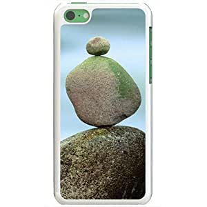 Apple iPhone 5C Cases Customized Gifts For Art Rock Statue Artistic Artistic White