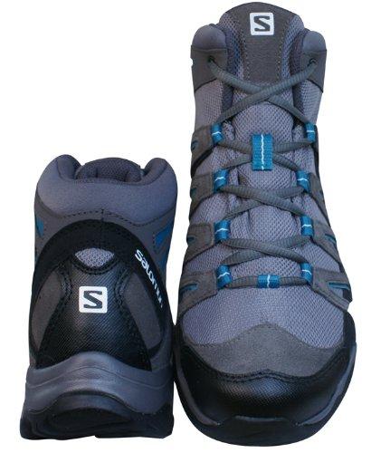 Botas De Montaña / Zapatos Salomon Greenpeak Mid Gtx Para Mujer - Gris