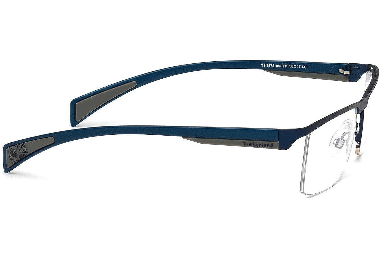 TIMBERLAND Montura gafas de ver TB1275 091 Azul Mate 56MM: Amazon.es: Ropa y accesorios
