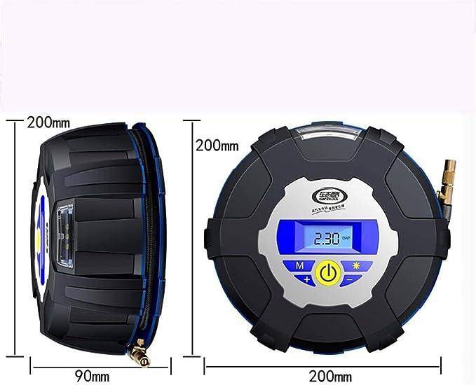 AWYL Inflador portátil del neumático del compresor de Aire de 12V: Amazon.es: Deportes y aire libre