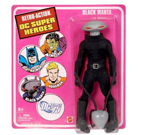 Black Manta Costume (Retro-Action DC Super Heroes Black Manta Figure)