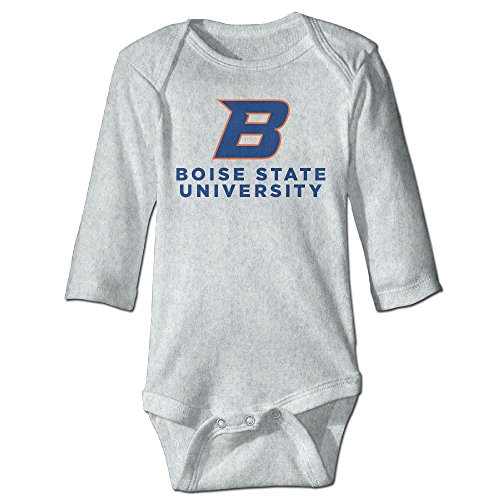 Price comparison product image OOKOO Baby's Boise State University Logo Bodysuits Ash 24 Months